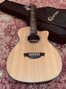 Pre-Owned Crafter Lite TRV/SP Solid Top Travel Acoustic Inc Bag