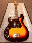SX P-Bass Sunburst Left Handed