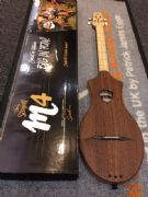 Seagull M4 Merlin G Fretted Dulcimer, G-Tuning, Natural Mahogany
